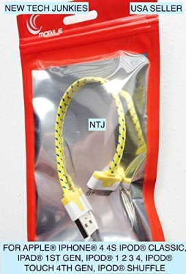New Tech Junkies 3214590 Sync & Charge Cable