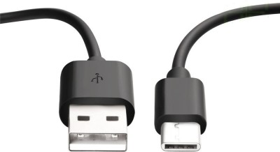 AKSHAJ Premium Quality USB Type C Charging and Data Sync Cable for One Plus ONE / TWO / Google Nexus 5X 6P / Nokia Tablet / New MacBook / Asus Zen AiO and Other Devices with Type C USB - Black USB C Type Cable