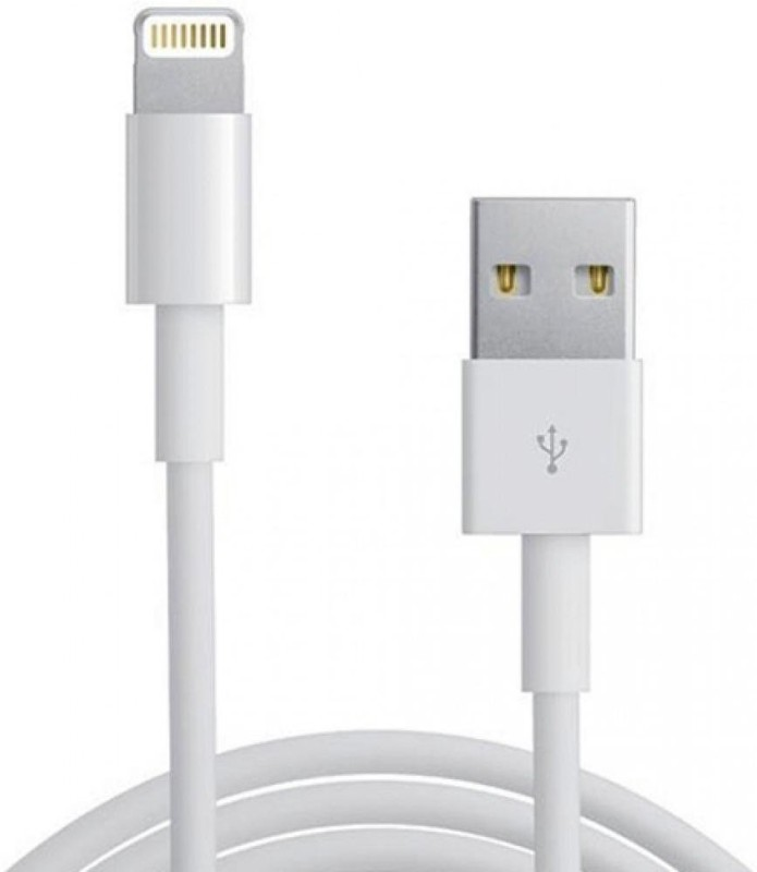 Vanaaba USB Data Cable & Charging for iPhone 6, 6Plus ,5s, 5c, 5, iPad USB Cable(White)
