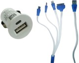Easo India 4-in-1 Data Cable USB Cable (...
