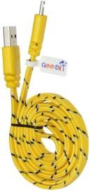 GooDiT Universal Micro USB Cable(Yellow)