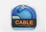 SYL SYL USB BLUE CABLE FOR APPLE IPHONE ...