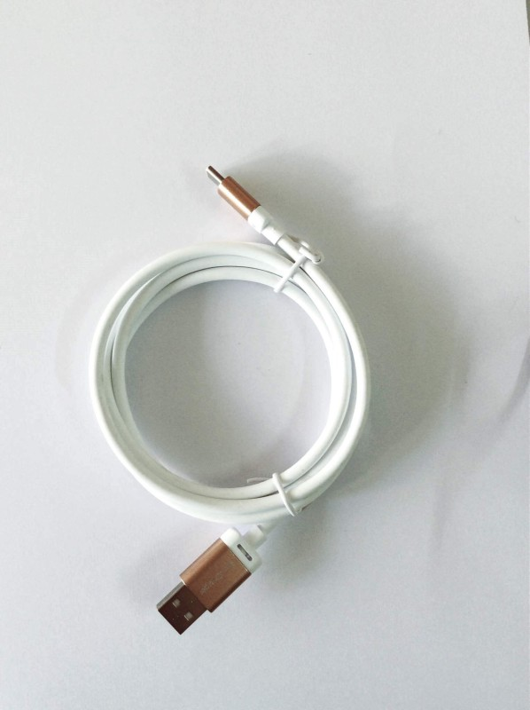 Accucharger Type-C Cable IIP-FNC-401 USB Cable(White)