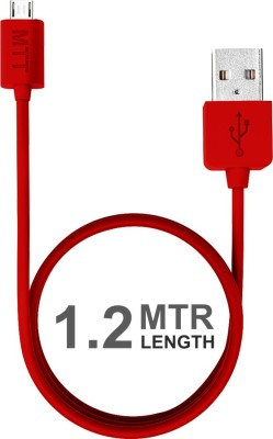 MTT 1.2 Meter Fast Charging Soft Grip USB Cable