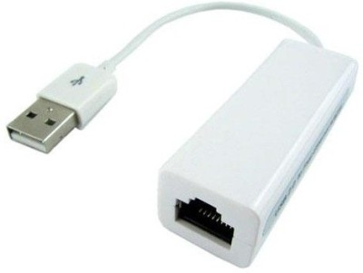RoQ USB 2.0 Am to 10-100 RJ 45-46 LAN Support Win 8 USB Cable