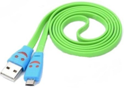 YourDeal 1601012 V8 Smiley Face LED light USB Cable