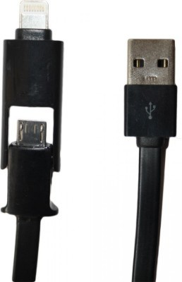 Technofirst Solution 2 in 1 USB Cable USB Cable