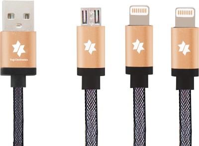 Yogi Electronics Universal Indestructible Safe-Charge ET 867 USB Cable