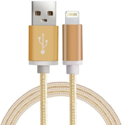 Lexel High Quality Metal Head Nylon Braided Fast Charging 1 Meter Long For Iphone Ipad Etc. USB Cable