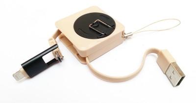 True Deal Dual Connector V8 & iPhn USB Cable