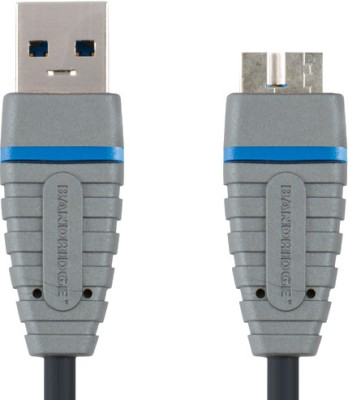 Bandridge BCL5902 Blue USB 3.0 A-Micro-B Cable 2.0 m USB Cable