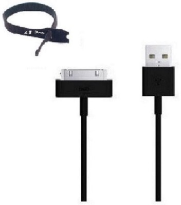 Aj Pro 10FtBlackTie Sync & Charge Cable