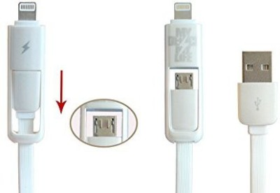 Liveimpex 2in1-usb-white Sync & Charge Cable