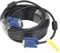 Signaweld High Quality RGB for LED and TFT 15 pin10 Meter VGA Cable(Black, White)