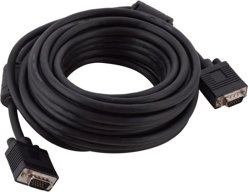Target VGA Cable 10 meters (TC100VG) VGA Cable(Black)