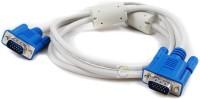 Elcor Elcor5mtr VGA Cable(White, Black)