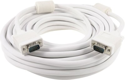 data cables 25 meter VGA Cable(White)