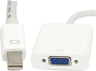 iConnect World Mini DisplayPort to VGA Female Adapter for Mac Thunderbolt Compatible Patch Cable