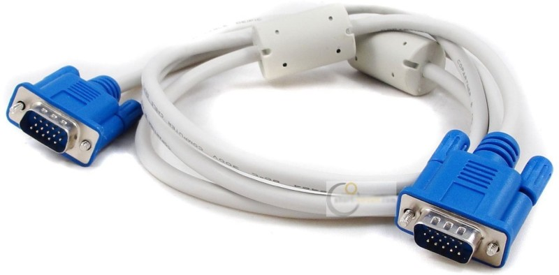 Ophion 5 Meter 15 Pin Male to Male VGA Cable(White)