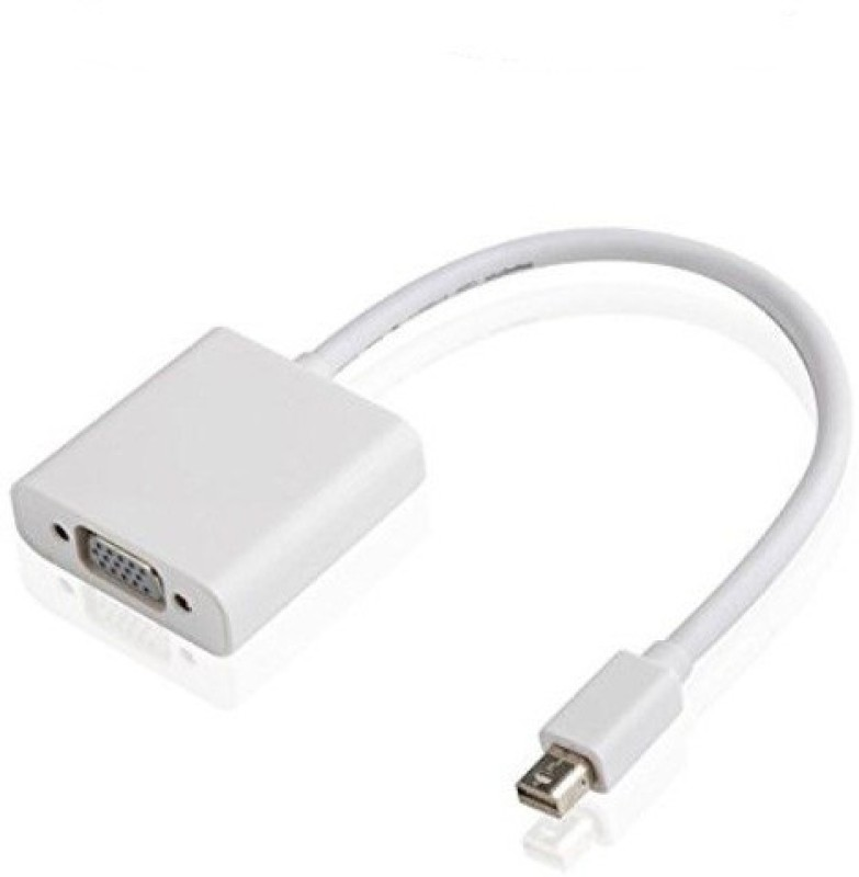 Ophion Mini Display Port Thunderbolt To Female VGA Cable(White)