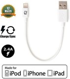 Createpros CP-WHTST75 Lightning Cable (W...