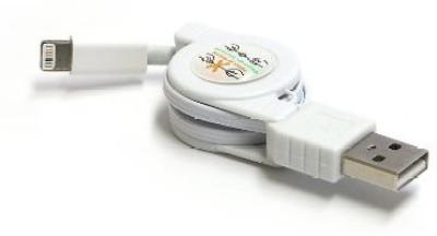 Plug & Go! IPH4/I-PINK Lightning Cable
