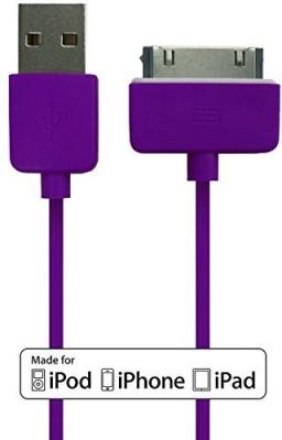 Plug & Go! IPH4/I-PURPLE Sync & Charge Cable