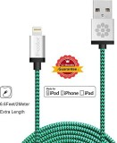 Fcolor 3218215 Lightning Cable (Green)