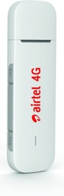 Airtel E3372h-4g/3g/2g Unlocked Usb Data Card(White)