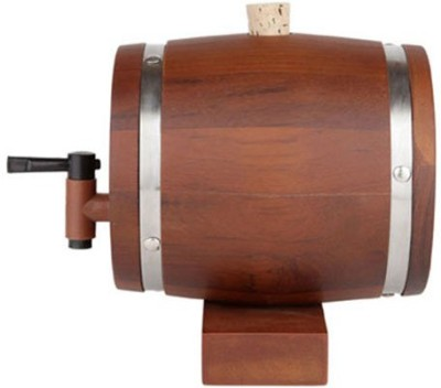 Exciting Lives Teak Wood Decanter
