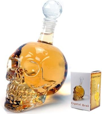 Magnusdeal Crystal head-Skull Decanter Decanter