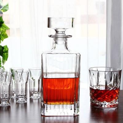 rcr opera whisky decanter set m whiskyglas.
