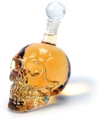 Inventure Retail Skull Crystal Head Whiskey, vodka, rum, beer Decanter