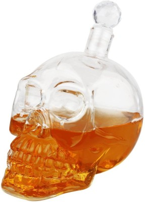 Lifestyle-You BA03 550 ml Whiskey, Vodka, Rum, Brandy, Juice, Soft drinks, Milk Decanter(Glass, 18.6 oz)