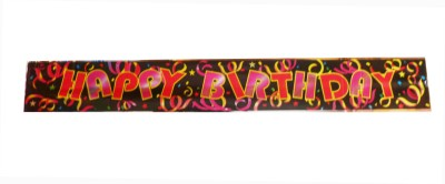 Party Anthem Multicolor Banner