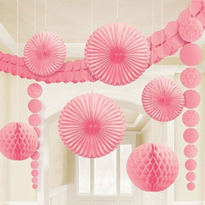 Amscan Pink Decoration Kits - 9 g