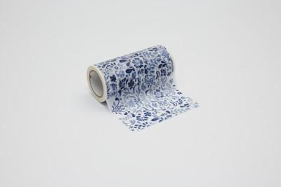 Decolfa Blue Decorative Tape (100mm x 8mtr) - 1