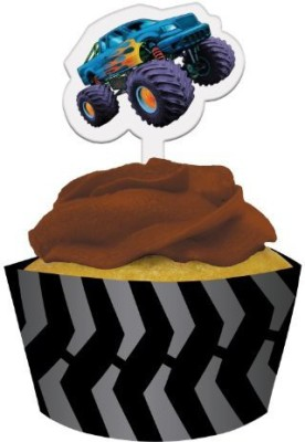 Creative Converting Multicolor 12 Mudslinger Cupcake - 453 g