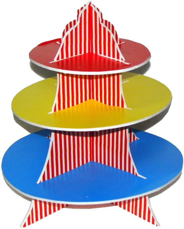 Untumble Multicolor Food Table Decoration For A Bithday Party - 1