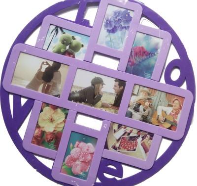 Creators Pink & purple Wall frame sticker - 1