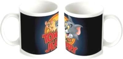 Tom and Jerry Mug Multicolour Ceramic Mug - 1 ml