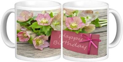 Birthday Ceramic Mug Multicolour Ceramic Coffee Mug - 325 ml