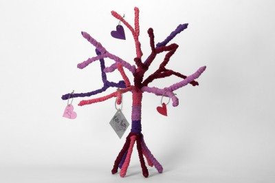The Wishing Chair Multicolor Rainbow Yarn Tree - 1