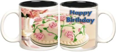 Data Express Birthday Inner Black Colour Mug Multicolour Ceramic - 50 ml
