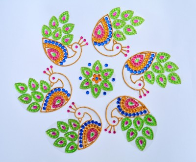 Nandini Light Green Wall And Floor Decoration - 80 g