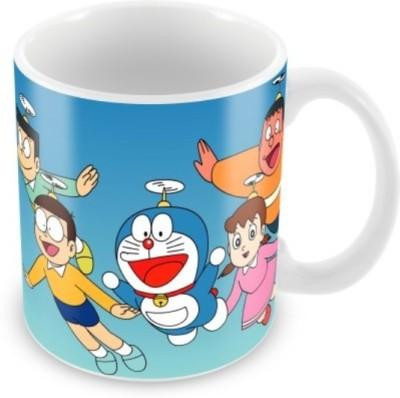 Data Multicolour Ceramic Mug - 325 ml
