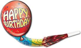 Beistle Happy Birthday Musical Blo-Loons Multicolor Decorative - 4