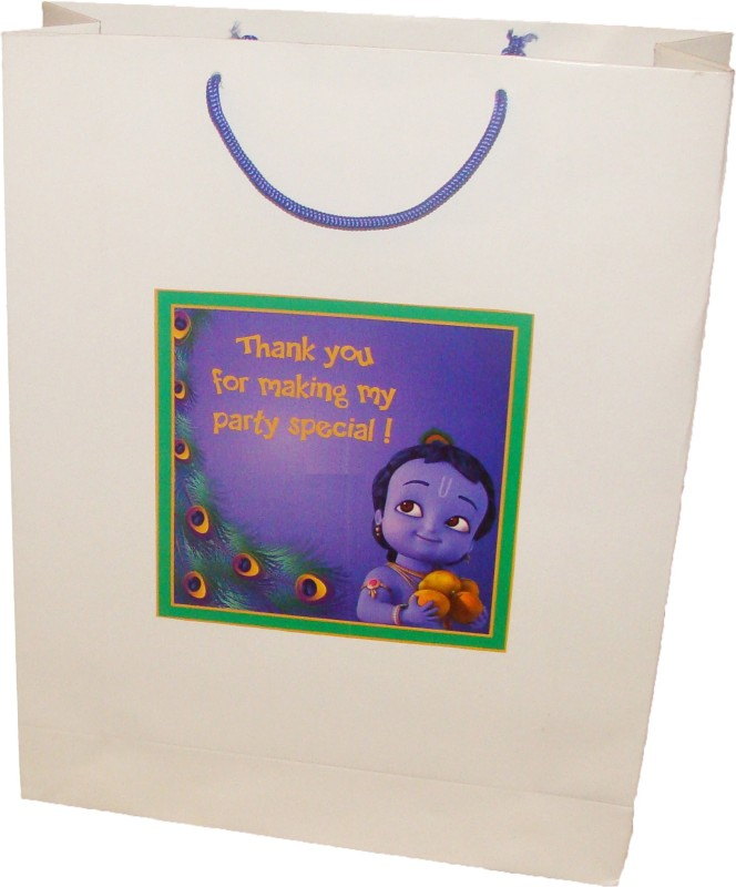 Untumble White, Dark Blue Gift Bags - 5