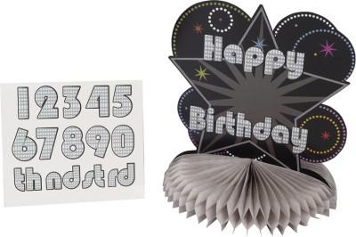 Madcaps The Partyshop Black Centerpiece - 80 g