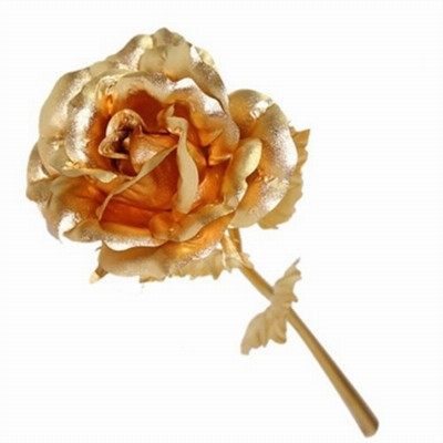 Jemjewellers Gold GOLD PLATED ROSE - 450 g